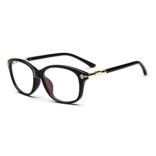 dking-fashion-womens-cateye-prescription-rxable-eyeglasses-frames-black