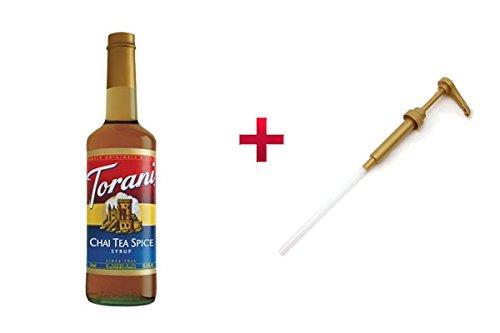 Torani Chai Spice Syrup + Pump