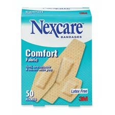Nexcare Comfort Ultra Fabric Bandages, Assorted