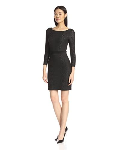 A.B.S. by Allen Schwartz Women's Long Sleeve Bodycon Dress