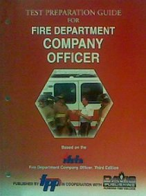 Test Preparation Guide For Fire Department Company Officer (Ifsta Company Officer compare prices)