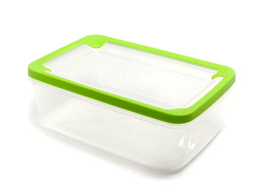 Frigidaire 100 Oz Food Storage Container Rubberized Lid for Real Seal Food Protection