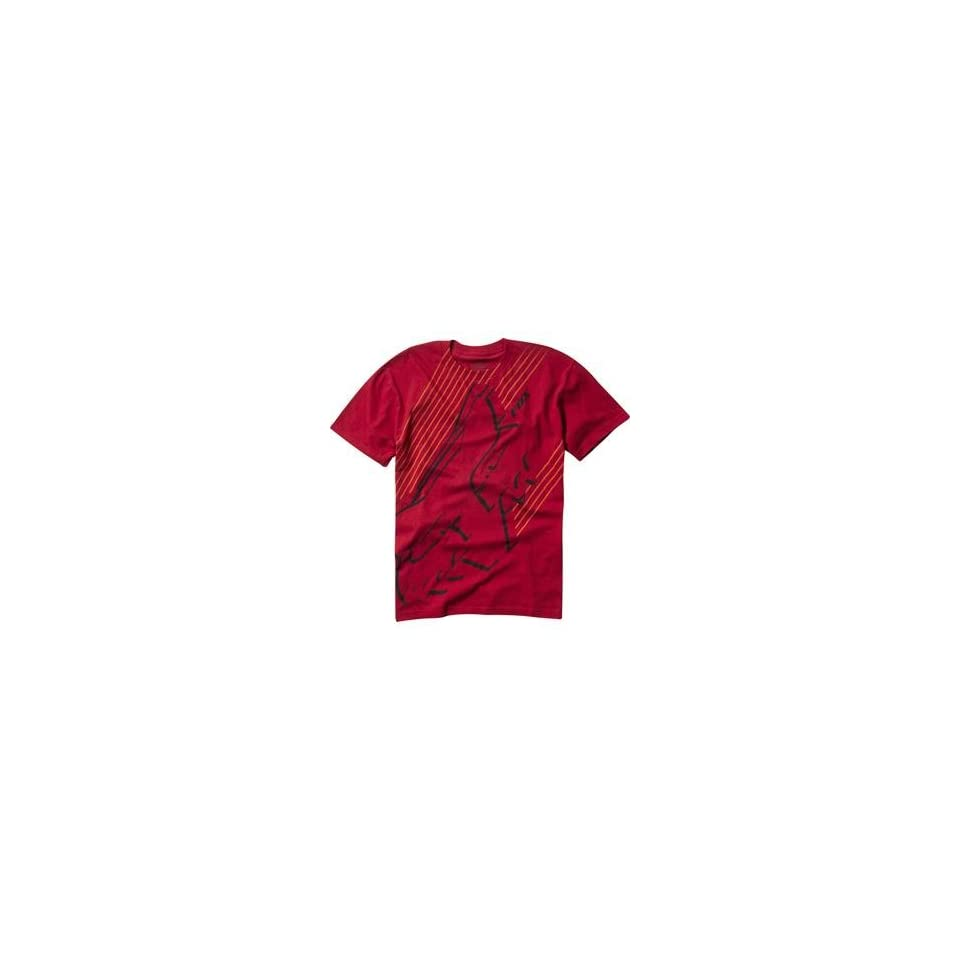 Fox Racing Vanished T Shirt   Large/Red