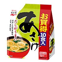 株式会社永谷園 永谷園 生みそ汁(あさげ) 徳用 10袋