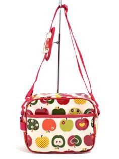いつも一緒のmy通園バッグ おしゃれリンゴのひみつ(アイボリー) 日本製 N0516400