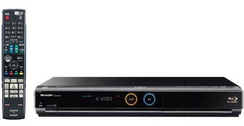 SHARP AQUOS ブルーレイディスクレコーダー HDD搭載500GB BD-HDW45