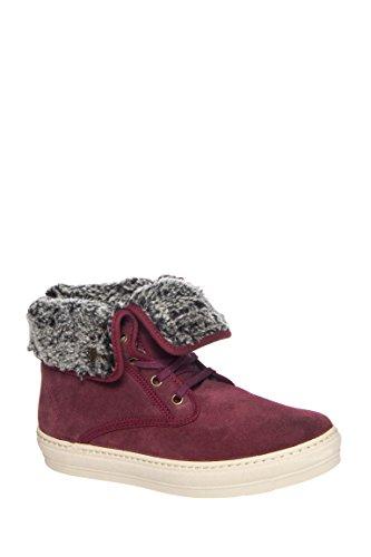Bota Cuello Vuelto High Top Sneaker