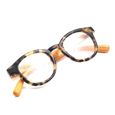 Tortoishell Bamboo Reading Glasses (1.5)