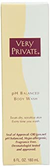 Very Private pH Balanced Body Wash 6-Ounce Bottle