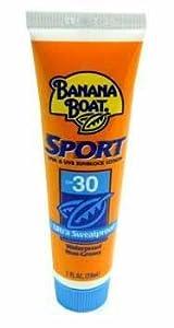 Banana Boat Sport Sunblock SPF 30 travel size 1 oz (case of 24)