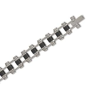 Bicycle Chain Link Men's Bracelet 316L Surgical Stainless Steel