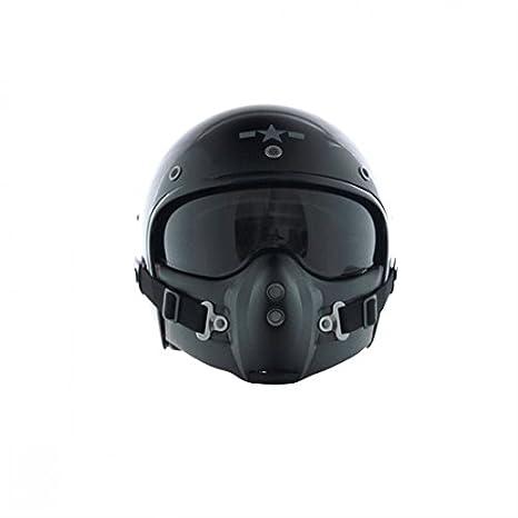 CA101S - Corsair Noir Brillant Uni Taille S