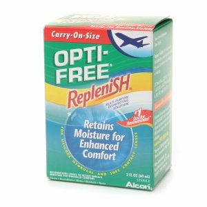 Opti-Free RepleniSH Multi-Purpose Disinfecting Solution, Carry-On Size, 2 fl oz