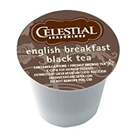 Celestial Seasonings English Breakfast Black Tea Keurig 144 K-Cups