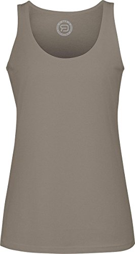 R.E.D. by EMP Tank Top Top donna marrone S