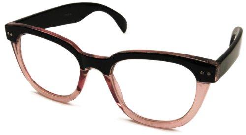 abillo Damen Herren Nerdbrille