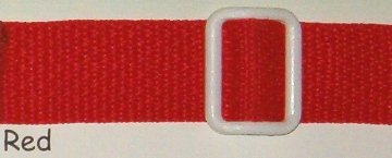 Deluxe Security Harness Color: Red front-407946