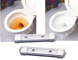CHEMICAL FREE MAGNETIC TOILET BOWL CLEANERS - SET OF 2