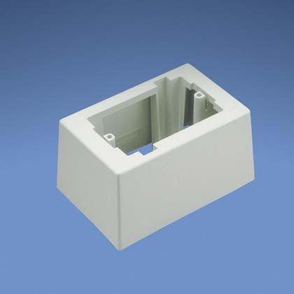 Jb1Diw-A: Panduit Pan-Way® Single-Gang Deep Low Voltage Surface Mount Box, Off-White, Pack Of 2