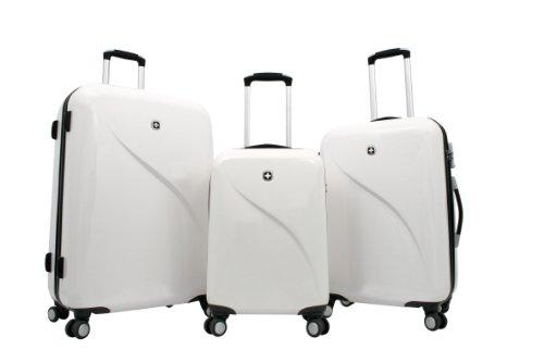 Trolley Koffer Set 3 tlg. - EVO - Weiss von Wenger