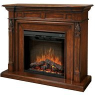 """Dimplex Sep-Bw-4217-Fb Torchiere 32"""" Trimless Electric Fireplace With Burnished, Burnished Walnut"""