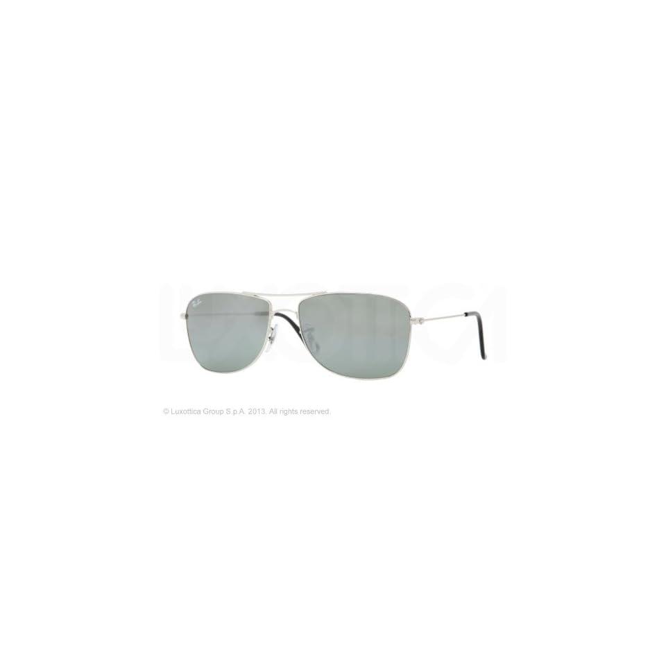 b4ad4b12e3 New Ray Ban RB3477 003 40 Silver Crystal Gray Mirror Lens 56mm Sunglasses