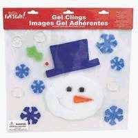 "Impact Innovations 12153D ""X-mas"" GEL Clings 12""x12"" by IMPACT INNOVATIONS"