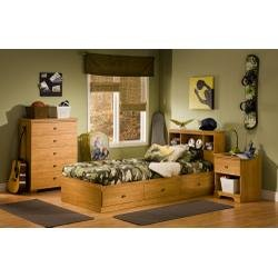 Cheap Kids Bedroom Furniture Set in Florence Maple – South Shore Furniture – 3575-BSET-1 (3575-BSET-1)
