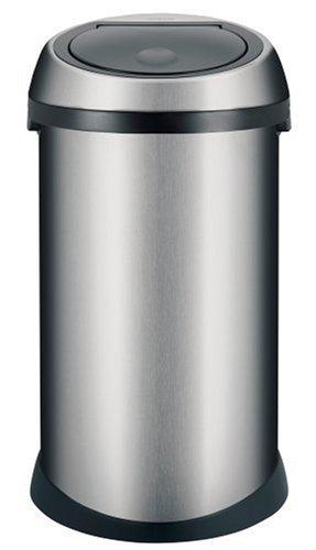 Brabantia Touch Bin, 50 Litre, Matt Steel