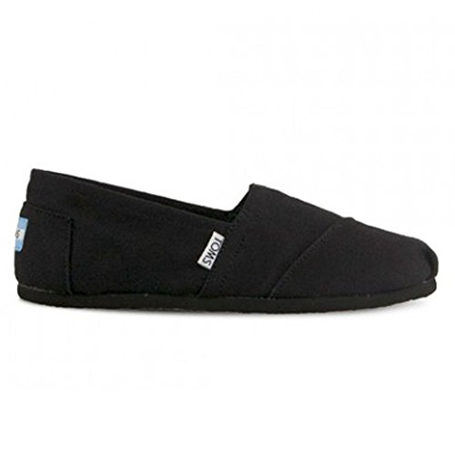 Toms Womens Classics Black/Black Canvas 10002472 Womens 6.5 (Classic Toms compare prices)