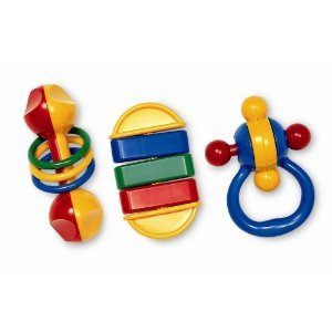 Tolo Deluxe Baby Rattle front-620634