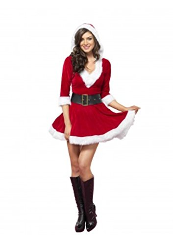 2 PC. Ladies Mrs. Claus Dress