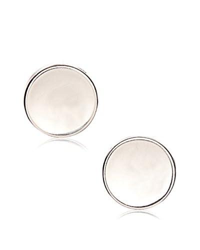 Peermont Jewelry Sterling Silver Button Stud Earrings
