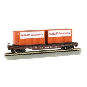 Bachmann Trains Seaboard with Container Load