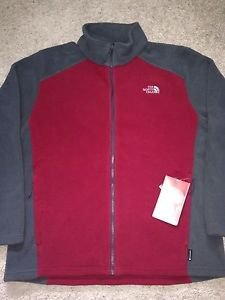 The North Face Apex Bionic Jacket - Men's biking red/asphalt grey small