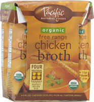 Pacific Natural Foods Organic Broth Chicken -- 8 fl oz (Chicken Stock 8oz compare prices)