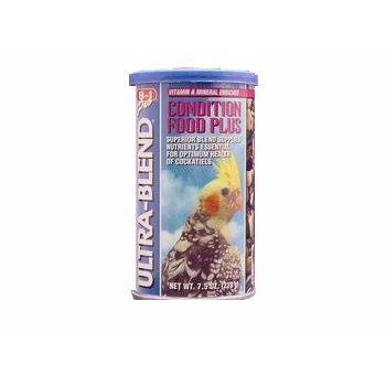 Cheap 3PK Cockatiel Ultrablend Condition Food 7.5oz (Catalog Category: Bird / Large Hookbill Treats) (BEOC545)