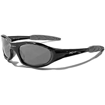 X-Loop Lunettes de Soleil - Sport - Cyclisme - Ski - Conduite - Moto / Mod. 2044 Noir / Taille Unique Adulte / Protection 100% UV400