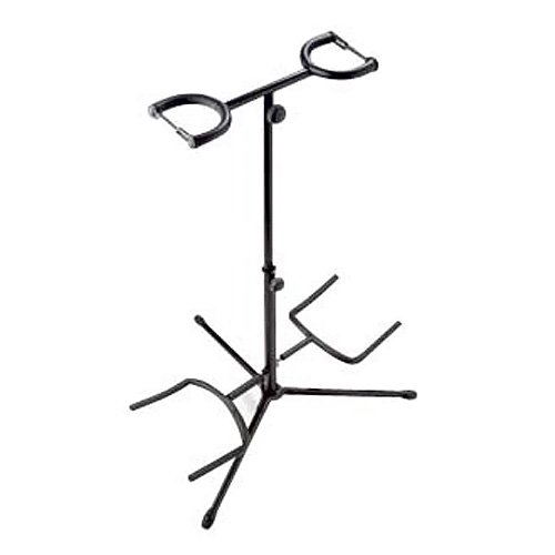 Stagg SG-A200 Double Guitar Stand (Black)