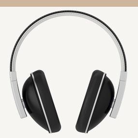 Polk buckle over-ear headphones with POET