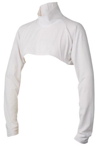 99.3% UV cut short sunburn prevention neck really long high necked inner shirt tennis Golf run M white