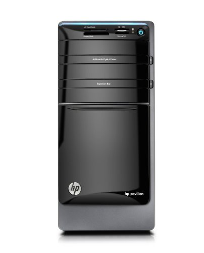 HP Pavilion p7-1510 Desktop (Black)