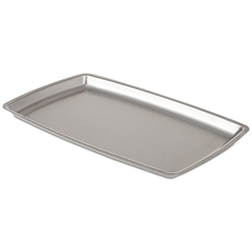 JB Prince Stainless Steel Rectangular Sizzle Platter (Stainless Steel Sizzle Platters compare prices)