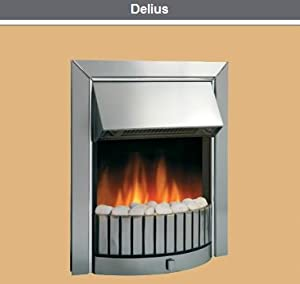 Dimplex Delius Optiflame Inset Electric Fire Kitchen Home