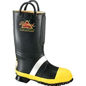 Thorogood Hellfire RubberLight Insulated Fire Boot with Calendared