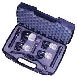 Shure PGDMK6-XLR Drum Microphone Kit with XLR-XLR Cable