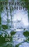 A Share in Death (0330342460) by Crombie, Deborah