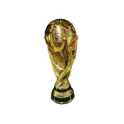 【本物と同サイズ!】ワールドカップ公認レプリカトロフィーLサイズ(高さ36cm)・南アフリカワールドカップ に!