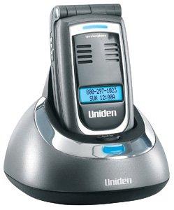 Uniden ELT560 5.8 GHz Digital Expandable Cordless Flip Phone with Color LCD Handset (Titanium)