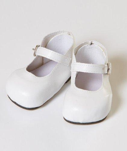 Imagen de Blanco Mary Jane Shoes 2010 zapatos de muñeca Adora